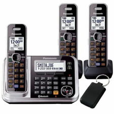 Panasonic KX-TG7893AZS Triple Handsets Cordless Phone w/ Answering Machine AUSto