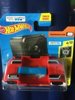 Hot Wheels ZOOM IN Experimotors 4/10 *NEW* 2019 RED ShortCard