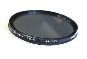 62mm Vivitar Polarizing Filter - Thin Linear Polarizer - EXCELLENT