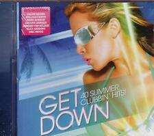 GET DOWN - 40 SUMMER CLUBBIN' HITS  [2 CD SAMPLER] NEU IN FOLIE OVP