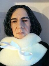 "Tonner Harry Potter 16"" DOLL Figure PROFESSOR SNAPE Dressed w/Robe,Wand & Stand"