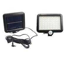 56 LED Motion Sensor Solar Powered Flood Light Outdoor Garden Security Spot Lamp