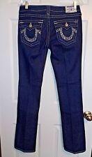 True Religion Sz 29 Jeans Billy Straight Leg Jeans Swarovski Crystals pocket