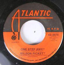 Soul 45 Wilson Pickett - One Step Away / Funk Factory On Atlantic