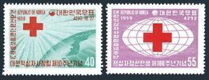 Korea South 295-296,296a,MNH.Michel 293-294,Bl.137. Red Cross idea,100,1959