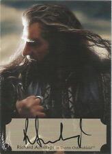 The Hobbit Desolation of Smaug: RA-P Richard Armitage Poster Autograph Card #35