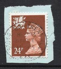 GB = QE2 Postmark - `STOKE-ON-TRENT MLO / CFC` 1993 Single Ring cancel. (h)