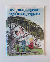 1978 38th Bing Crosby National Pro-Am Golf Tournament Program