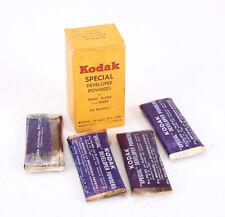 KODAK AUSTRALASIA SPECIAL DEVELOPER POWDERS, BOXED, 4 PACKETS, AS-IS/cks/212549