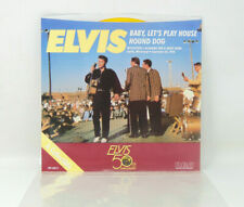 ELVIS PRESLEY (Baby, Lets Play House & Hound Dog) Gold 45-RCA  PB-13875 (Used)