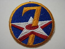7th AIR FORCE PATCH CURRENT MANUFACTURER :K6