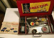 Vintage Gilbert Erector Set 7 1/2 Motorized MUST SEE