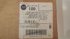 Allen Bradley 3 Pole Safety Contactor Ser B 100-A60NZ243 24VDC