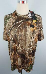 Under Armour UA Early Season Kit Realtree Edge Camo Hunting Shirt Men's XXL