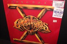 SEALED 80's 1st.Press~COMMODORES Heroes~LP+3 Sticker Lionel Richie Funk Soul R&B