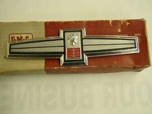 NOS OEM Ford 1963 Mercury Meteor Roof Side Emblem Ornament Trim