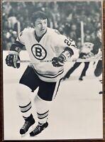 1991-92 Boston Bruins Sports Action Legends Brad Park - Mint (Rare)