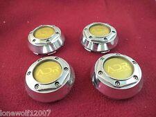 ADR Wheels Chrome Custom Wheel Center Cap # ADR 79 SET OF FOUR CAPS