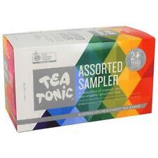 Tea Tonic Assorted Sampler Box, 32 Mixed Tea Bags   Tea Tonic Sampler