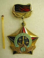 Vintage Soviet badge,Military space forces of the USSR