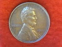 1911 P Philadelphia mint Lincoln wheat cent #51