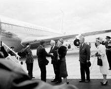 Arrival of President John F. Kennedy in Ottawa Canada New 8x10 Photo