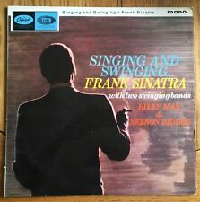 Frank Sinatra - Singing & Swinging with Two Swinging Bands UK 1965 LP Capitol