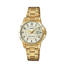 Casio LTP-V004G-9BUDF Gold Stainless Watch for Women