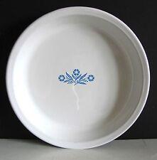"Corning Ware 9"" Blue Cornflower Pie Plate Pan Baking Dish P-309 made USA FREE SH"