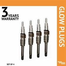 4x Glow Plug for Fiat Palio 1,9 JTD Cooling water heater