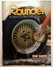 Rare ROUNDEL BMW MAGAZINE Aug 1988 Rare VHTF! M5 BBS Wheels Floor Mats 73 3.0CSi