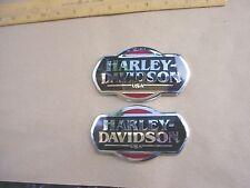 Harley Davidson FLHTCU Gas Tank Emblems 62287-08 62286-08