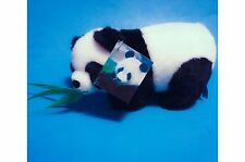 "Aurora Bamboo The Giant Panda Bear with Leaves in Mouth, Has Tags 10"" Plush"
