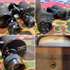 Ww2 Nash-Kelvinator 1943 H.M.R. M3 6x30 Military Binoculars , Case, *as-is*