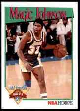 "Earvin ""Magic"" Johnson #321 - Hoops 1991/92 NBA Basketball Card"