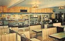 Waterloo Quebec Canada Cafe Rex Interior View Vintage Postcard J68695