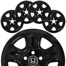 "4 fit Honda Crv 2012-2016 Black 16"" Wheel Covers Rim Skins Hub Caps Steel Wheels"