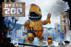 MGR Momoco 1/6 Mecha Shark Lord Sofubi [ThreeA/Instinctoy/Unbox/Fools Paradise]