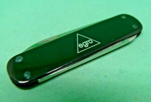 Victorinox / /Victoria / egro 74mm Escort Swiss Army Knife Black Alox