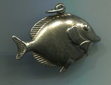 Âge plus + heureux pendentif en argent 835 pendentif supplie bonheur pendentif poisson