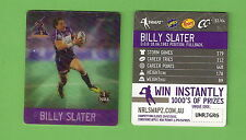 #D535. NRL 2011  MELBOURNE STORM  RUGBY LEAGUE TAZO #51  BILLY SLATER