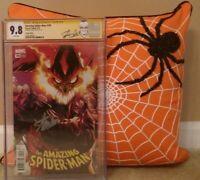 AMAZING SPIDER-MAN: #799 CGC 9.8 SS STAN LEE; RAMOS; RED GOBLIN 797 798 800 801