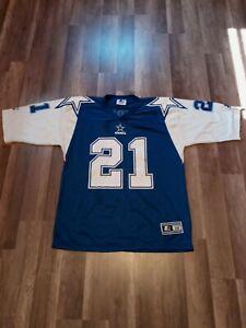Vintage 1995 Dallas Cowboys Deion Sanders Starter Jersey Men's Sz Large Rare