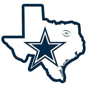 Dallas Cowboys Home State Magnet Texas Shape NFL Licensed