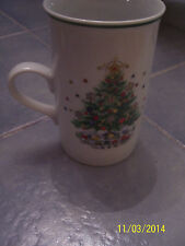 "Salem CHRISTMAS EVE (PORCELAIN FINE CHINA) 4 1/4"" Tall Latte Cup Mug  Viktor S."
