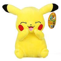 "New 12"" 30Cm Licensed Pokemon Pikachu Plush Toys Soft Stuffed Animal Doll Gift"