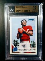 2019 Panini Donruss #302 Kyler Murray Rated Rookie BGS 10 Pristine RC Cardinals