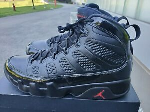 Nike Air Jordan 9 IX Retro Bred - Black/Anthracite/University Red - Size 12