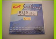1 confezione 20 Ami Suehiro in acciaio 110 carbon serie p125 n 26 pesca mf bi38