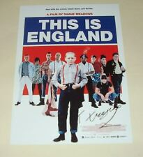 "THIS IS ENGLAND PP SIGNED POSTER 12""X8"" THOMAS TURGOOSE"